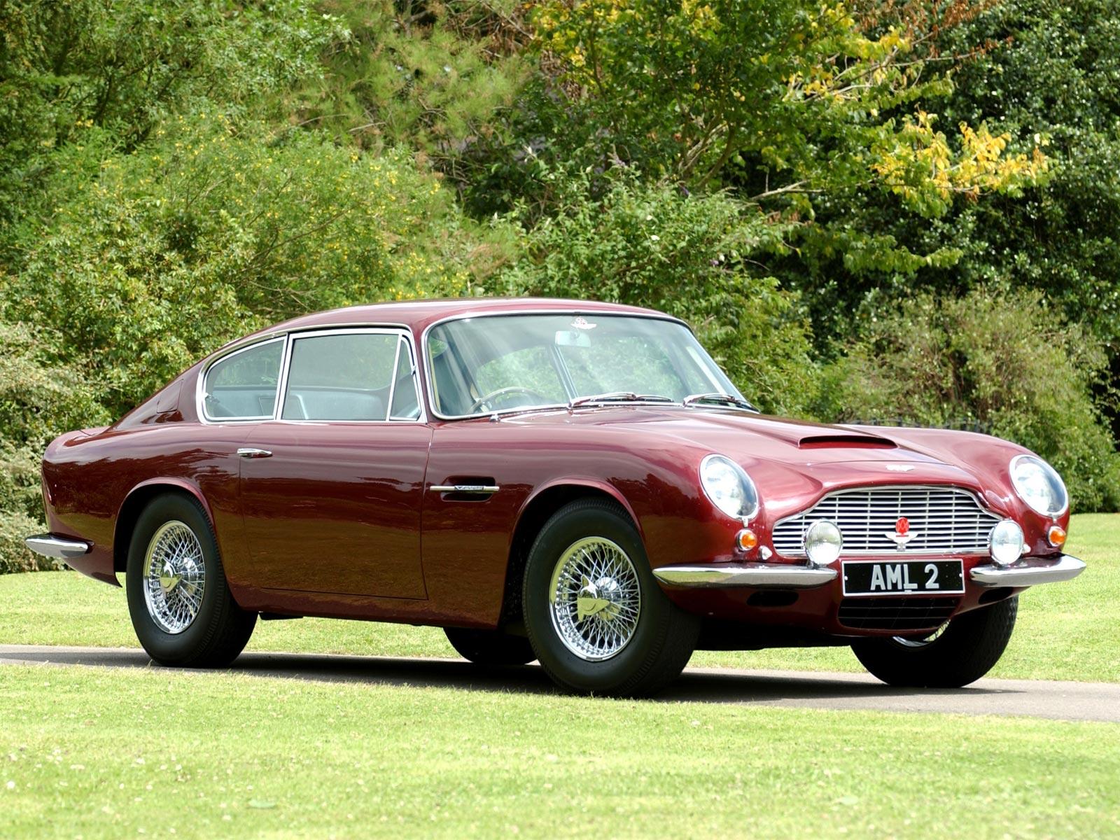 1969 Aston Martin DB6 Mk II (c) Aston Martin