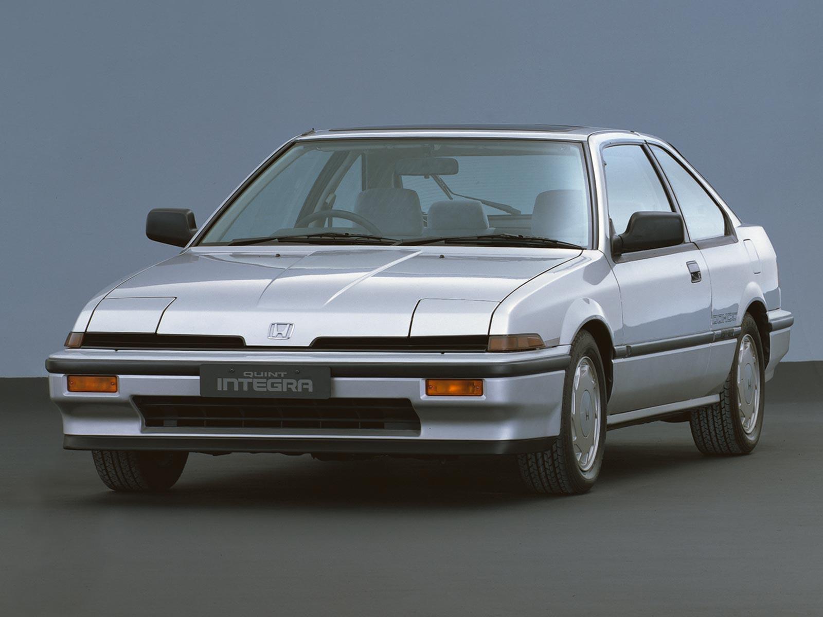 1989 Acura Integra >> 1985 - 1989 Honda Quint Integra Coupé | Autoguru-Katalog.at