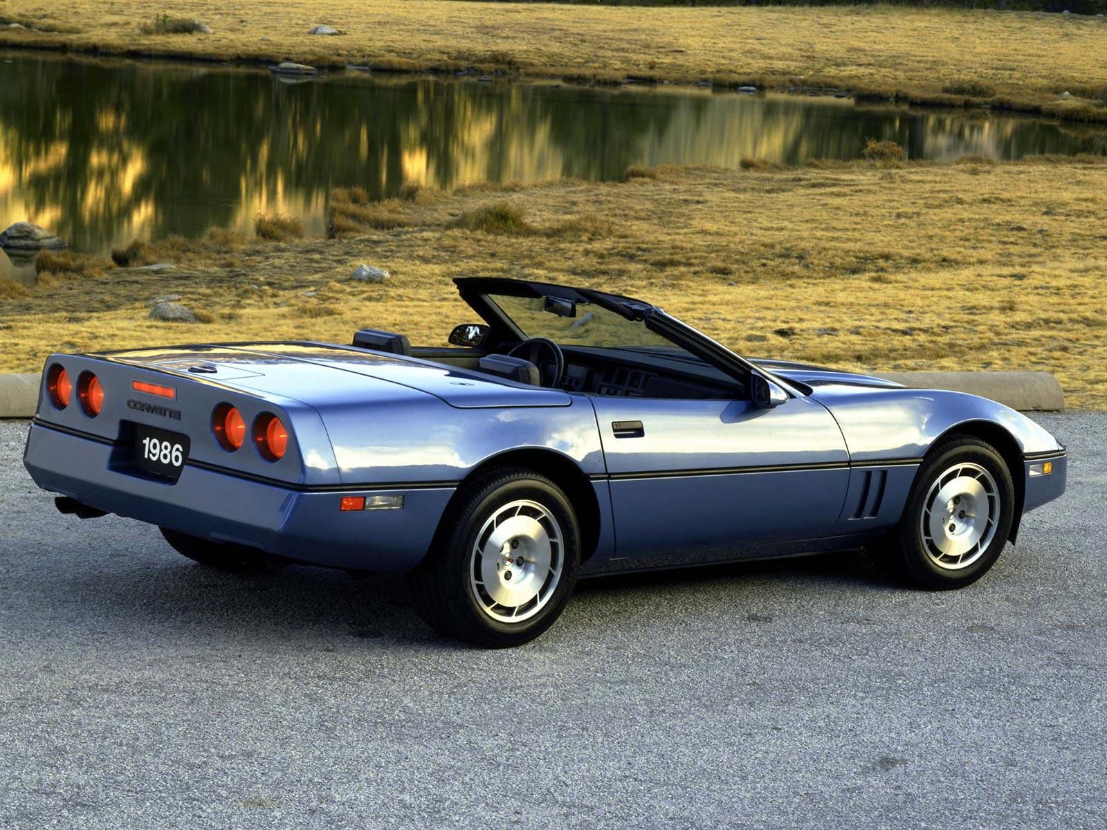 1986 Chevrolet Corvette Cabrio (c) Chevrolet