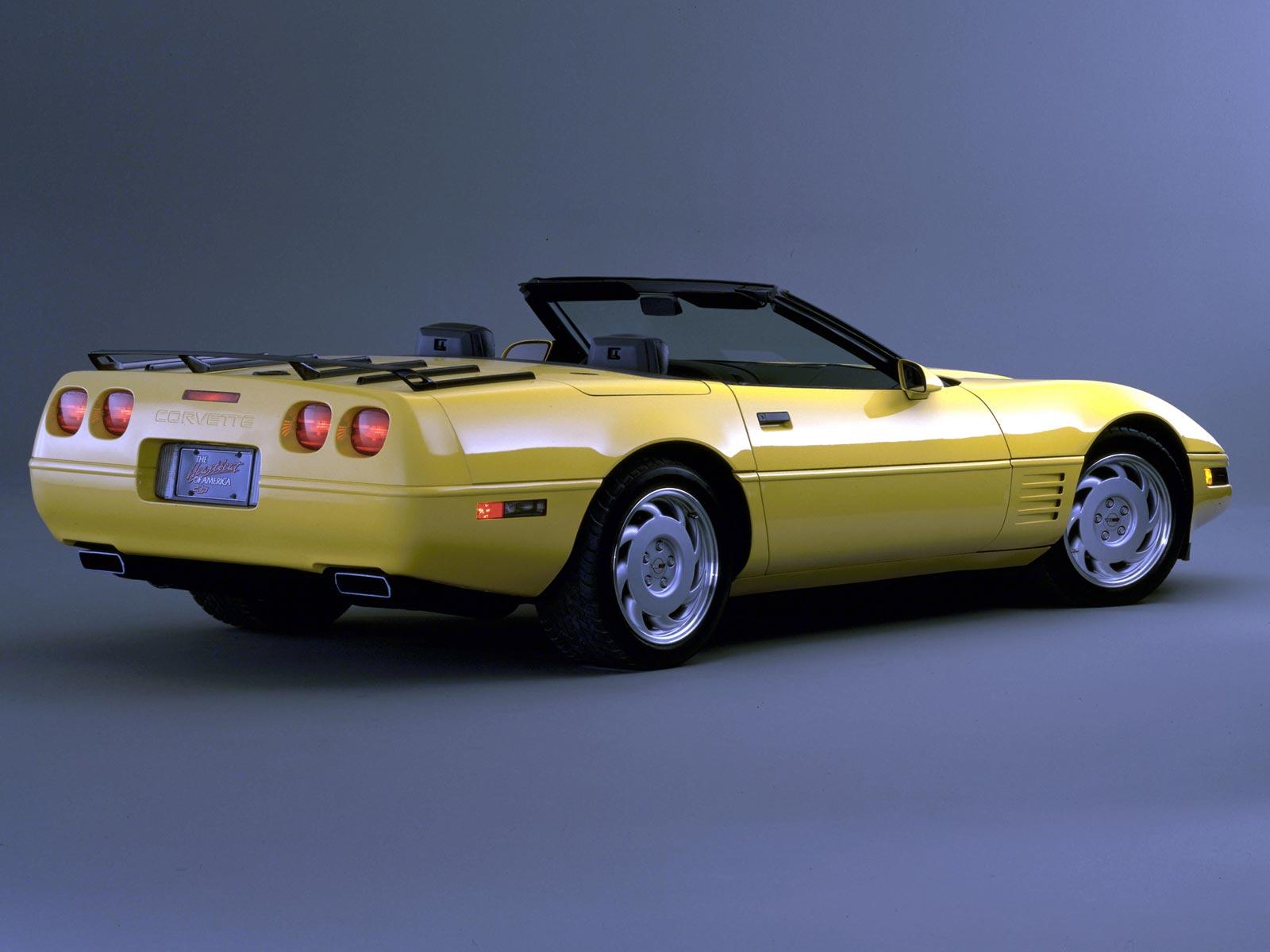 1992 Chevrolet Corvette Cabrio (c) Chevrolet