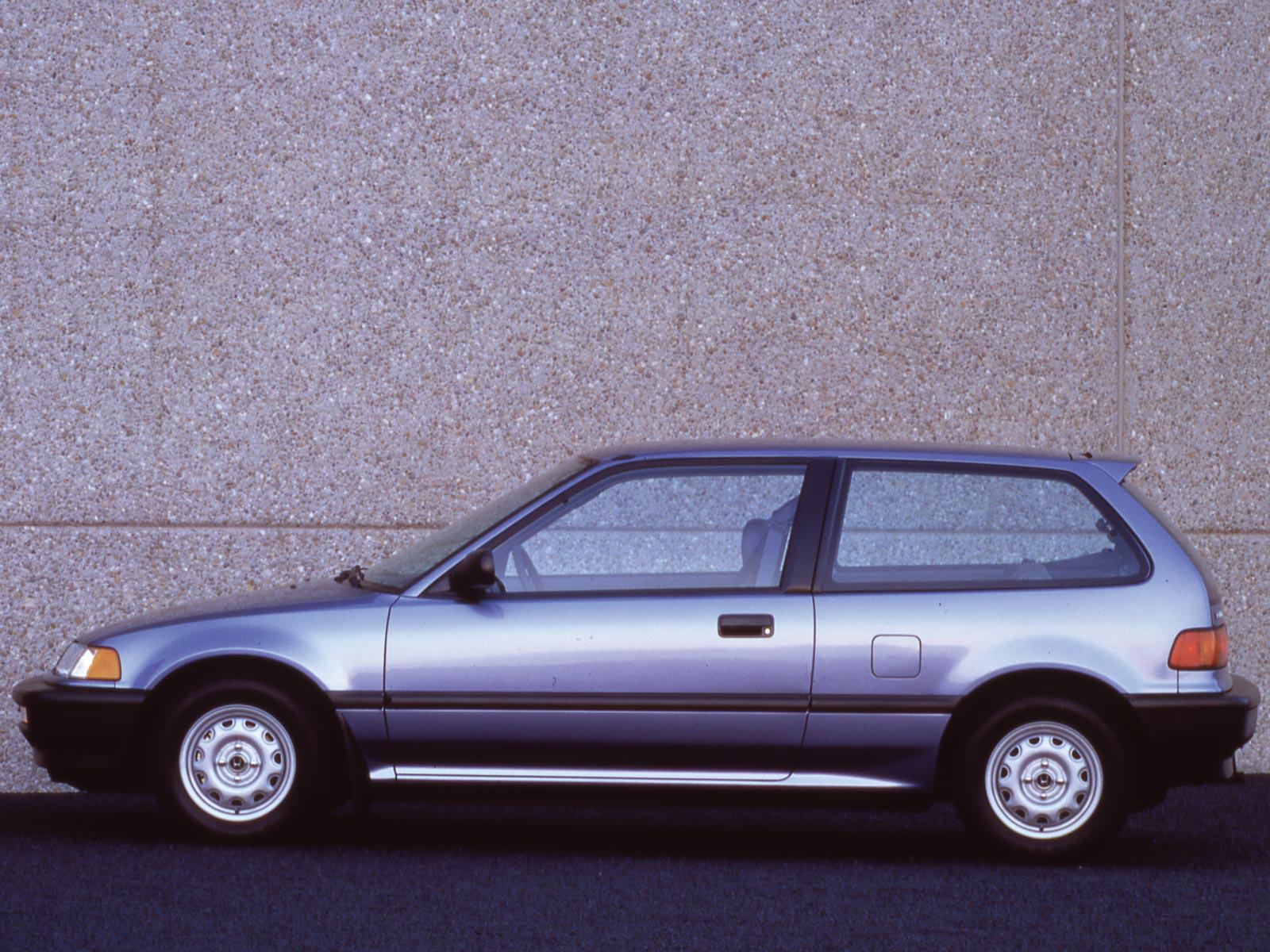1990 Honda Civic Hatchback (c) Honda
