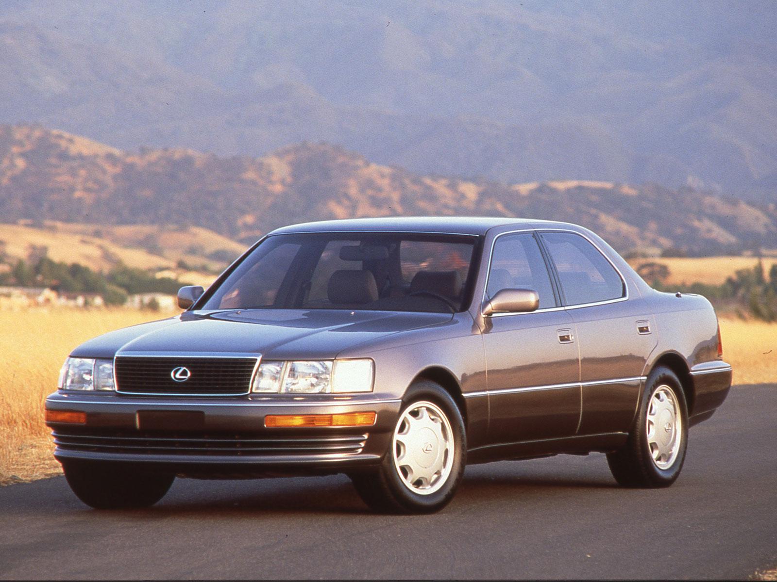 1989 Lexus LS (c) Lexus