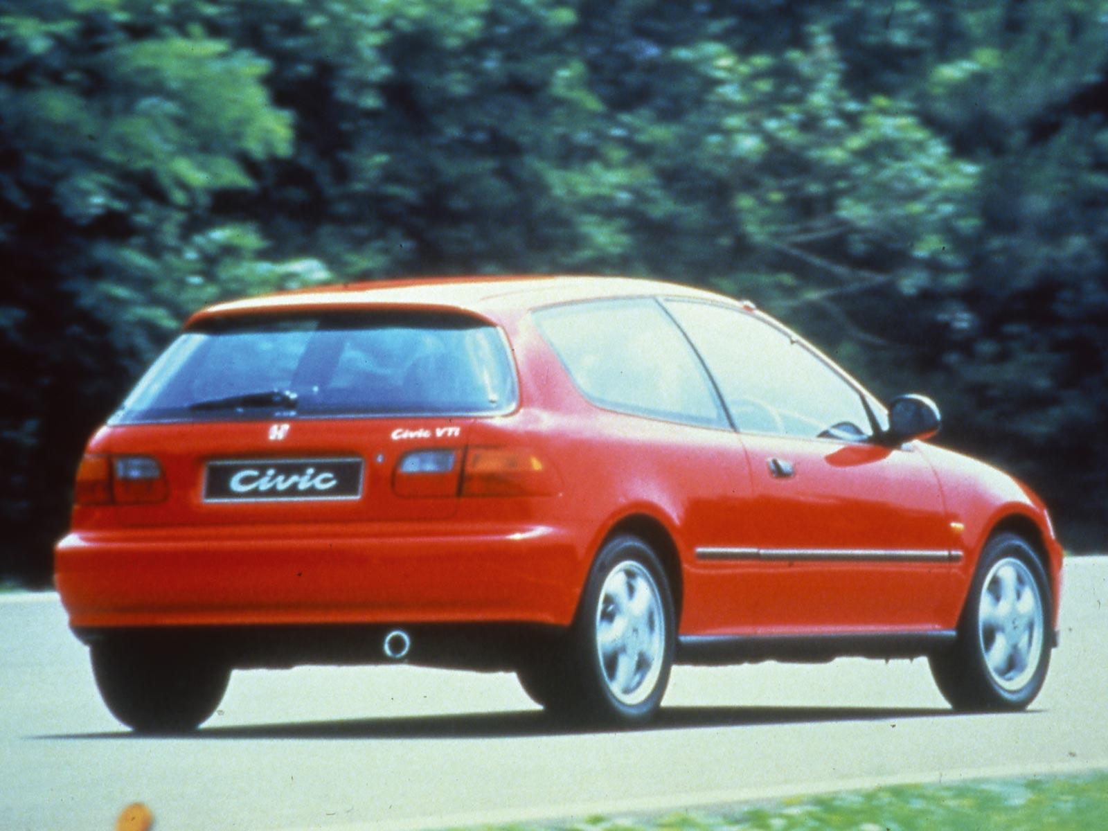 1991 Honda Civic Hatchback (c) Honda