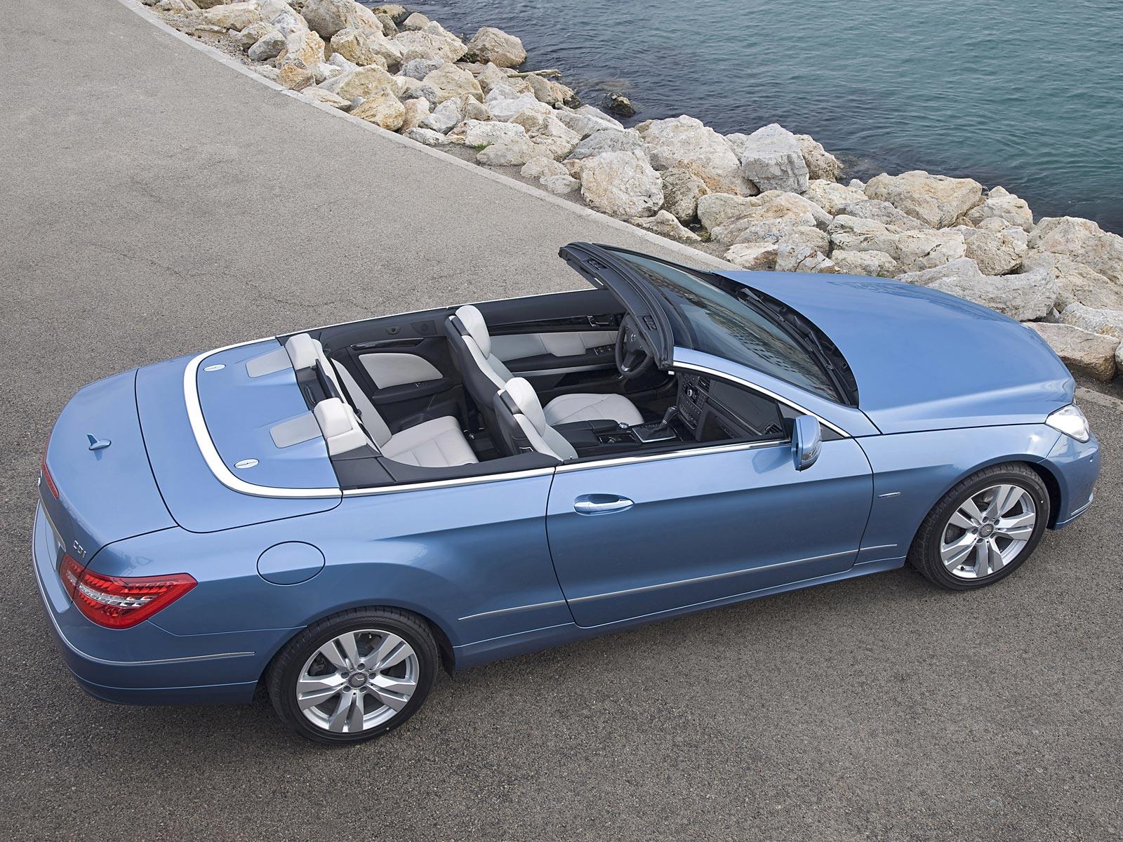 2010 mercedes e klasse cabrio baureihe a207 autoguru. Black Bedroom Furniture Sets. Home Design Ideas