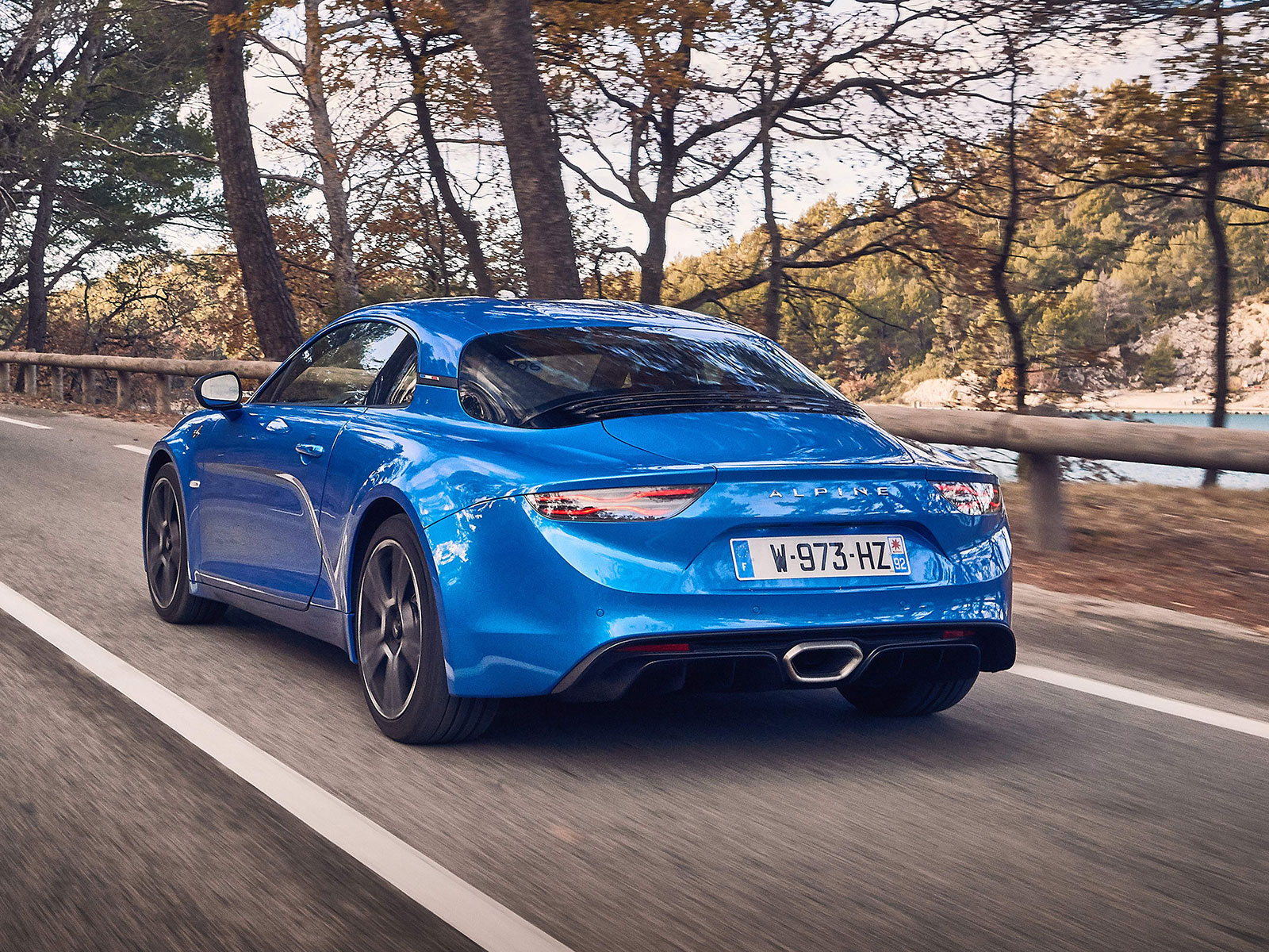 Alpine A110 (c) Renault Communications