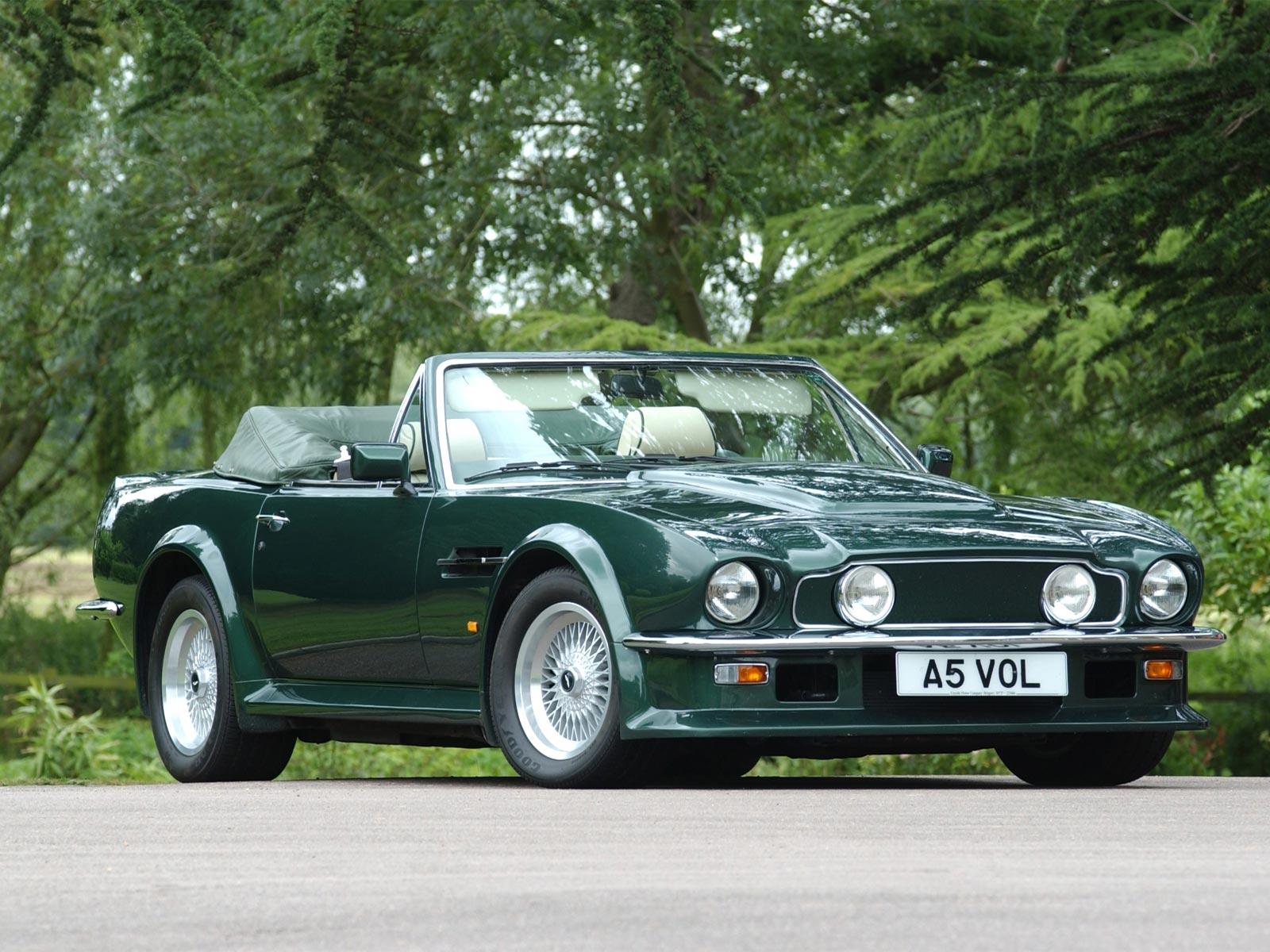 1978 1989 Aston Martin V8 Volante Autoguru Katalog At