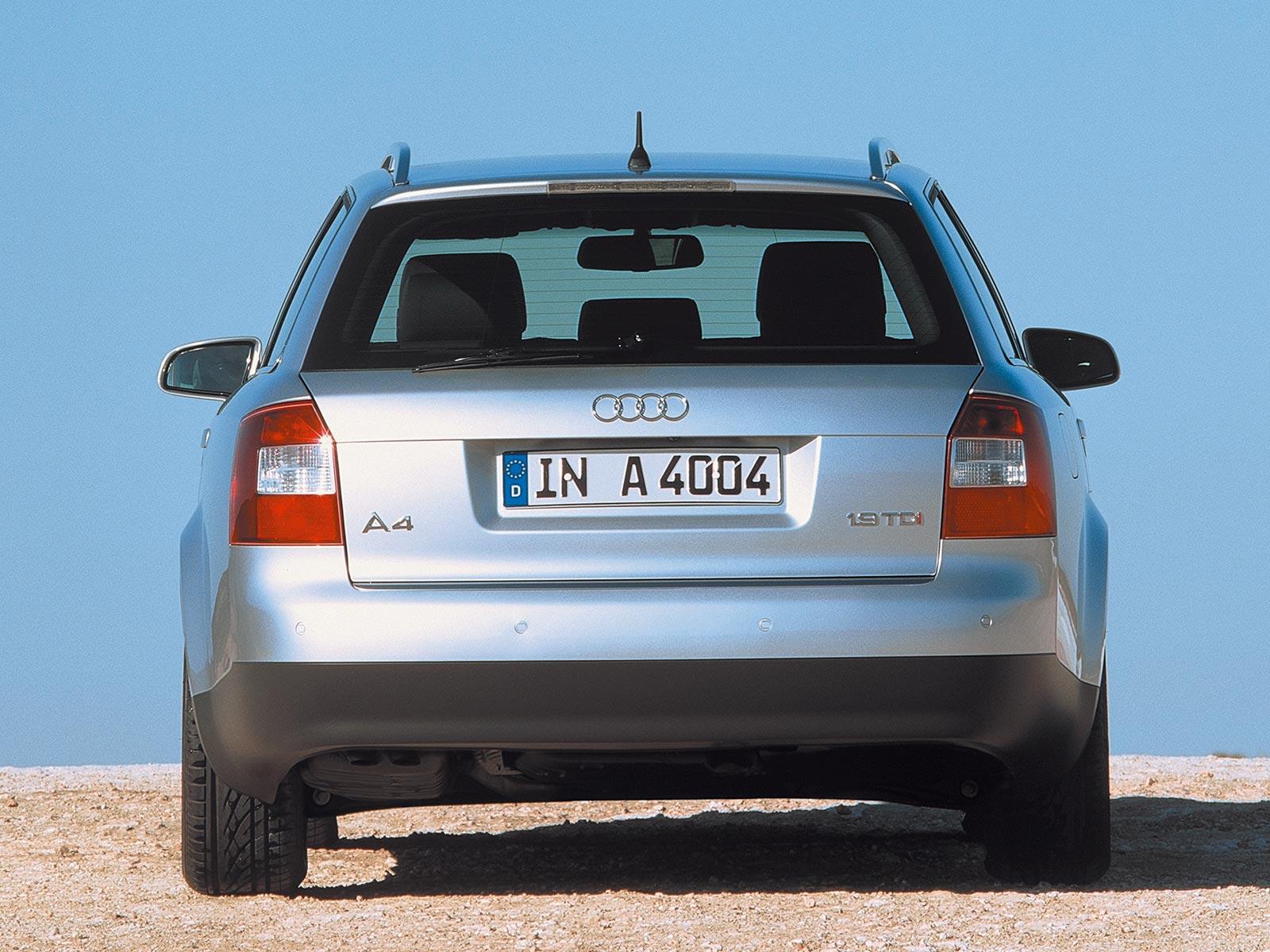 Audi a4 2004 Kombi 2000 – 2004 Audi a4 Avant b6