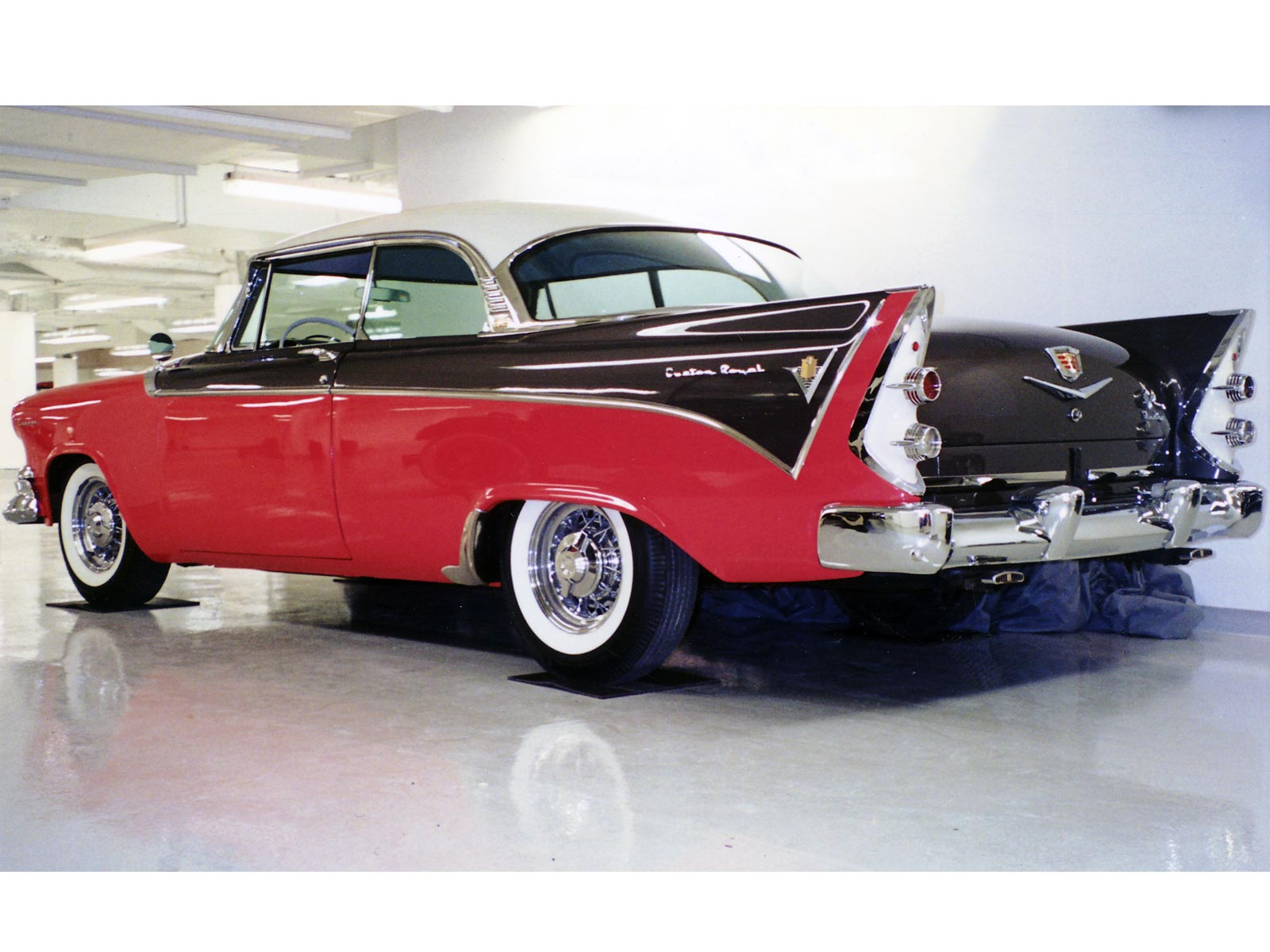 1955 dodge custom royal lancer 4 door sedan 15699 - 1955 1959 Dodge Custom Royal 1955 Dodge Custom Royal
