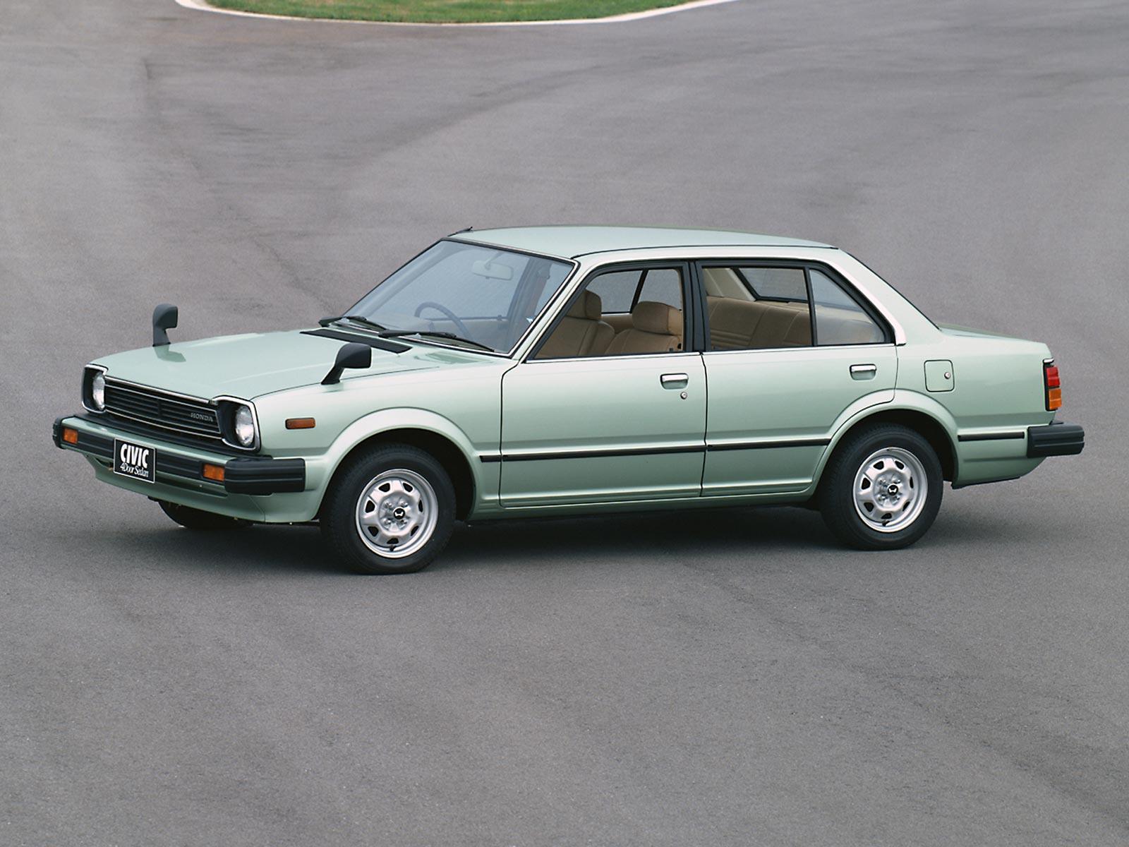 1979 1983 Honda Civic Sedan Autoguru Katalog At